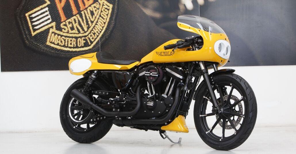 Le strane di Moto.it: Harley-Davidson 883 Iron Heroica