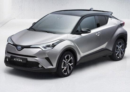 Toyota C-HR: ufficializzato il listino, via alle vendite