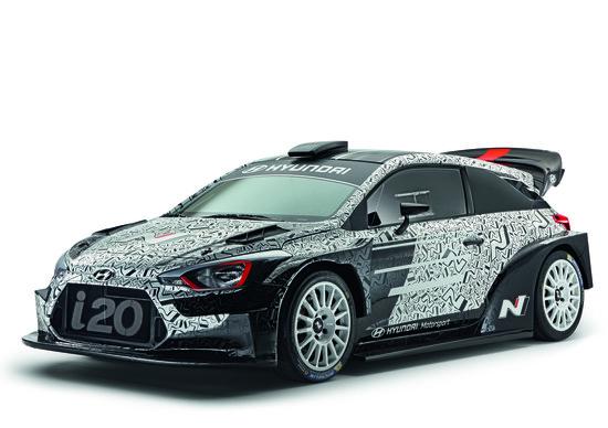 Nuova Hyundai i20 WRC 2017: il Mondial de l'Automobile diventa sportivo