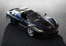 Ferrari LaFerrari Aperta svelata al Salone di Parigi 2016 [Video]