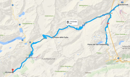 In viaggio con Camilla. Il giro dei sei Passi. 1° giorno (5)