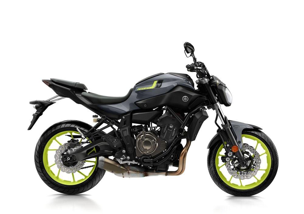 Yamaha MT-07 (2017 - 18)