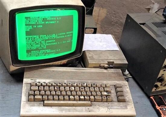 Computer vintage e Aftermarket automotive: il C-64 dell'autoriparatore polacco non è il solo