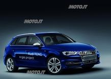 Audi A3 Sportback TCNG: a Parigi la variante a metano