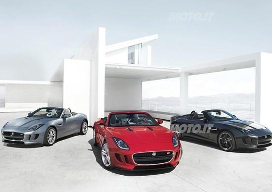 Jaguar F-Type: la prima immagine ufficiale