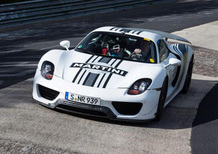 Porsche 918 Spyder: gira in 7'14'' al 'Ring