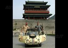 Da Torino a Pechino con una vecchia Fiat 500