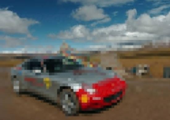 Con le Ferrari a 5.231 metri di quota