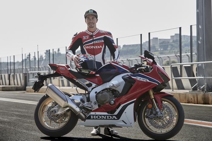 La Honda CBR 1000RR SP2 sarà la base per l'impegno agonistico in Superbike con Nicky Hayden