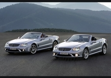 Mercedes nuove SL AMG