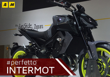 Yamaha MT-09 a Intermot 2016. Il video