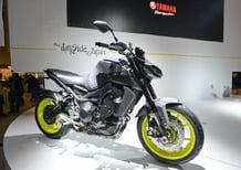 Nuova Yamaha MT-09 2017 a Intermot: foto e dati