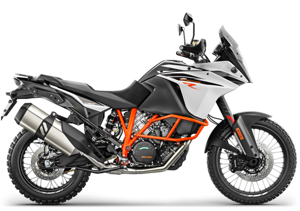 ktm 1090 adventure r (2017), prezzo e scheda tecnica - moto.it