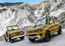 Suzuki Jimny Shinsei: ispirato agli anni Settanta