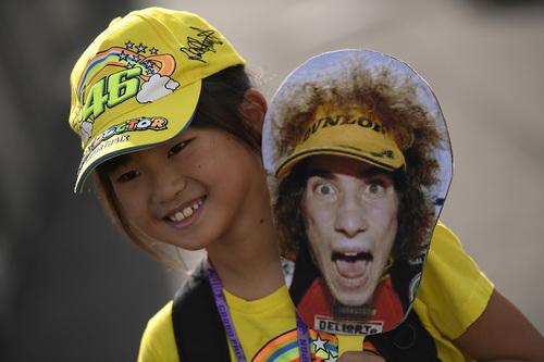 MotoGP. Le foto più spettacolari del GP del Giappone (6)