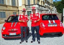 """Consegnate le Abarth 695 """"Tributo Ferrari"""" a Massa e Alonso"""