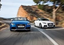 Audi: arriva la TT RS S Tronic a sette rapporti