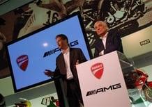 Ducati ed AMG: live dalla conferenza al Museo della Rossa