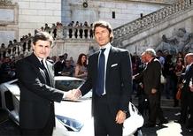 Aventador: Lamborghini sceglie Roma per il lancio