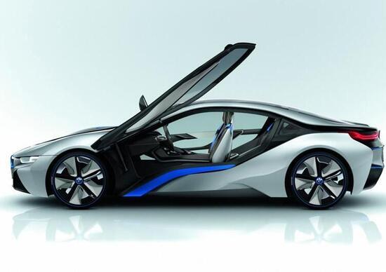 BMW i8 Concept: in concessionaria nel 2014
