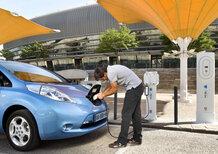 Nissan: nuovi accordi con produttori di ricarica EV