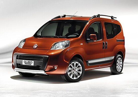 """Fiat Qubo """"Trekking"""" e Kit """"Nitro"""" al debutto a Francoforte"""