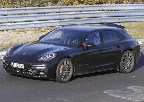 Porsche Panamera Sport Turismo: nuove foto spia al Ring