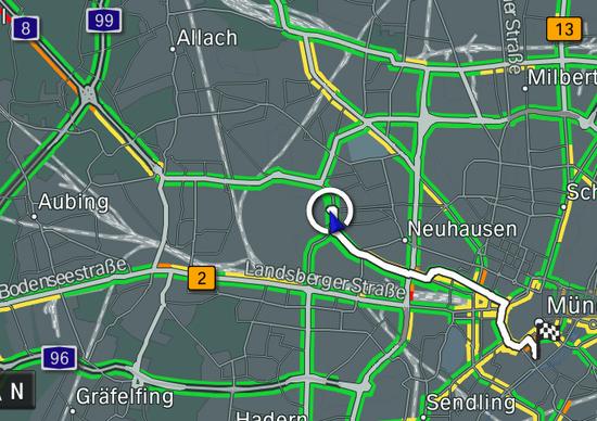 BMW RTTI: nuovo sistema di informazioni sul traffico in tempo reale