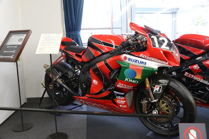 La GSX-R1000 del 2009 vincitrice alla 8 ore di Suzuka
