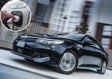 Kia Optima Plug-In Hybrid [Video primo test]