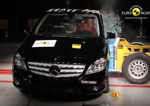 Mercedes-Benz: 5 stelle Euro NCAP per Classe B, C ed M