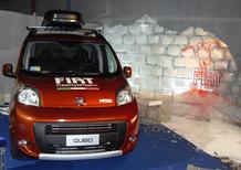 Presentati Fiat Freestyle Team 2012 e Qubo Nitro