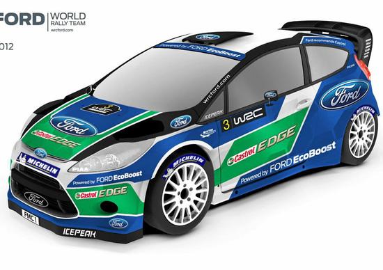 Ford: annunciata la squadra per il WRC 2012