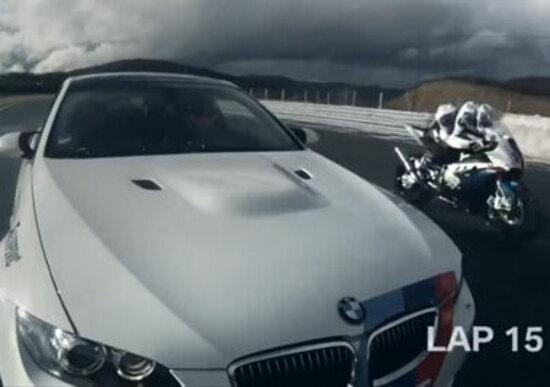 BMW M3 contro S1000RR: sfida tra auto e moto