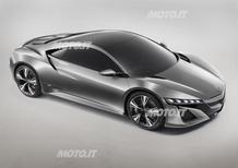 Honda NSX Concept: eccola in versione Coupé