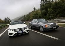 Mercedes: #RitornoAlFuturo sulle strade dell'Appennino