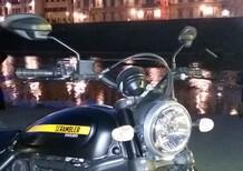 Scrambler Beach Party, Ducati sui lungarni con Braccialini
