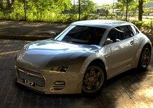 La Fiat 127 reinterpretata da Antonino Martini