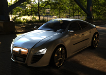 Giaguaro: la berlina-coupé secondo Marco Schembri