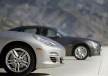Infiniti M35h vs Porsche Panamera S Hybrid