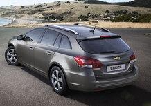 Chevrolet Cruze Station Wagon: debutterà a Ginevra