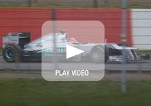 Mercedes AMG Petronas F1 W03: la vettura 2012 allo scoperto