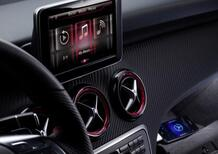 Mercedes-Benz Classe A: prime immagini degli interni