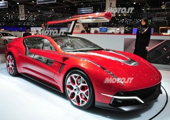 Le concept car del Salone di Ginevra 2012