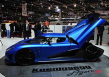 Koenigsegg al Salone di Ginevra 2012
