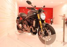 Ducati Monster 1200 2017 ad EICMA 2016: foto e dati