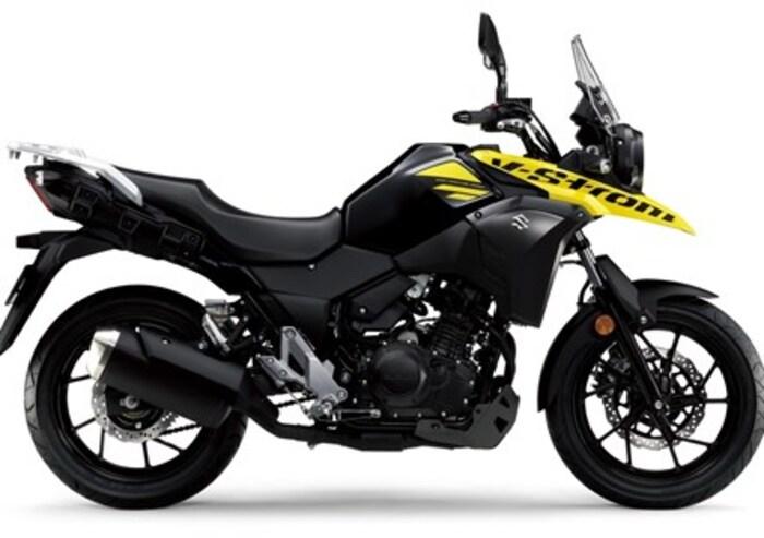 Suzuki V-Strom 250 ad EICMA 2016
