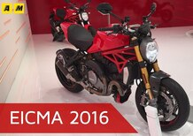 Ducati Monster 1200 ad EICMA 2016: il video