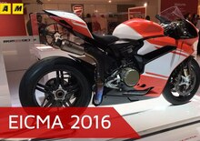 Ducati Superleggera 1299 ad EICMA 2016: il video