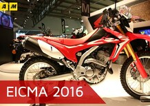 Honda CRF 250L ad EICMA 2016: il video